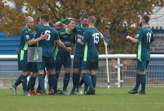 Chippenham Town V Concord Rangers Match Pictures 18th November 2017