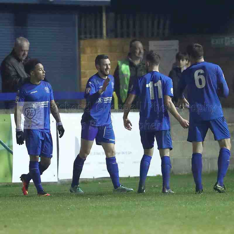 Chippenham Town V Whitehawk Match Pictures 2nd December 2017