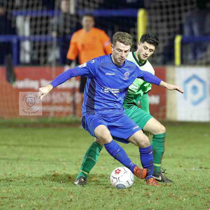 Chippenham Town V Chippenham Park (Wiltshire Senior Cup) Match Pictures 13th December 2017