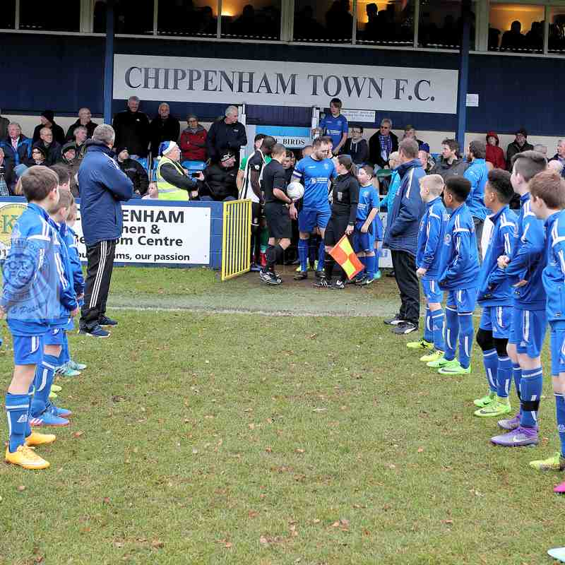 Chippenham Town V Bath City Match Pictures 23rd December  2017
