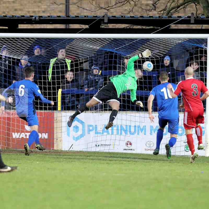 Chippenham Town V Hungerford Town Match Pictures 01st January  2018