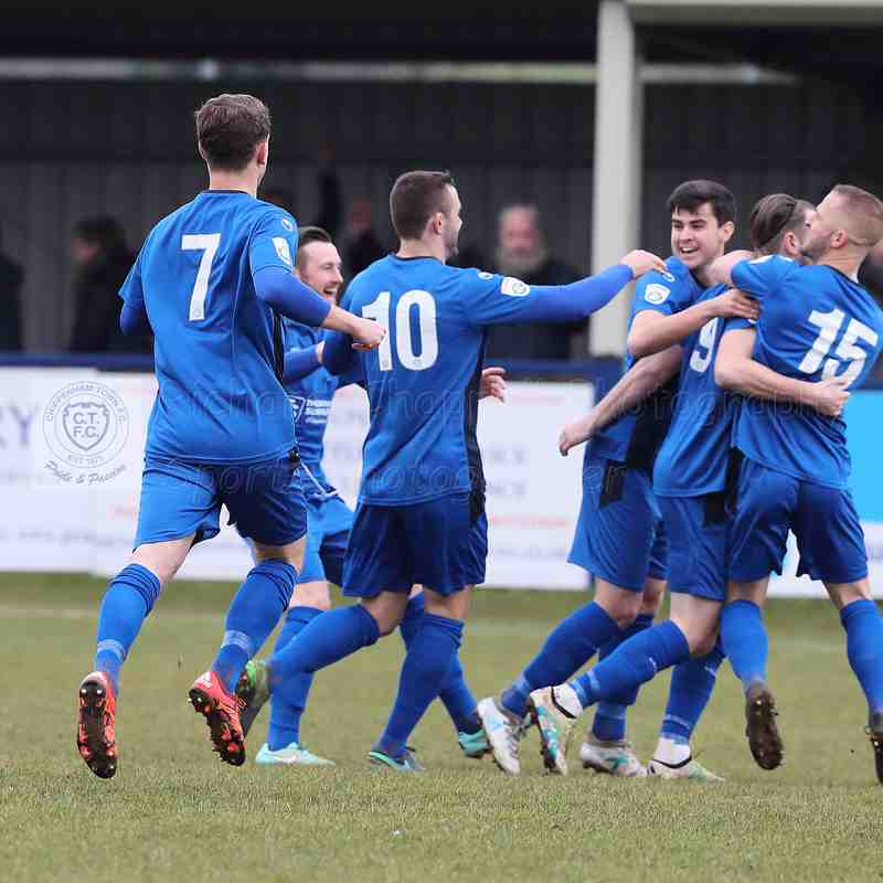 Chippenham Town V Braintree Town Match Pictures 13th January  2018