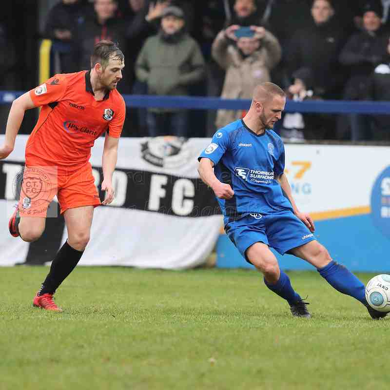 Chippenham Town V Dartford Match Pictures 20th January  2018
