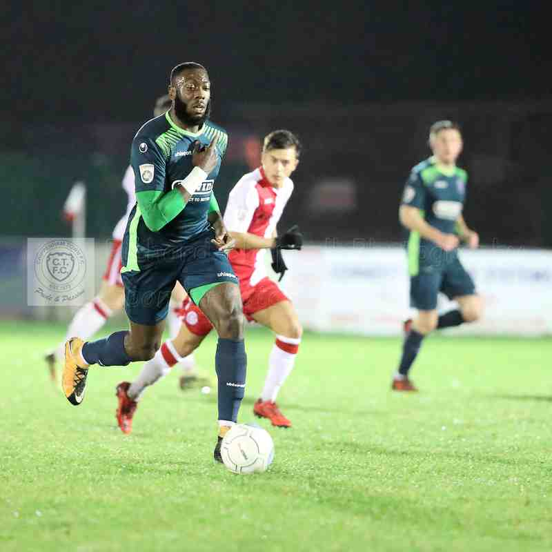 Chippenham Town V Poole Town Match Pictures 30th January  2018