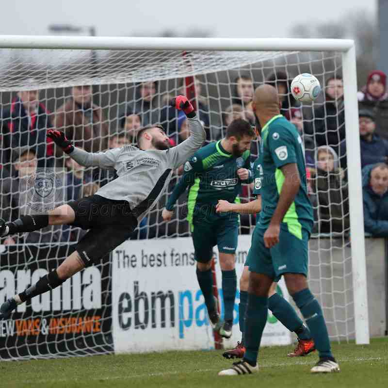 Chippenham Town V Chelmsford City Match Pictures 3rd February 2018