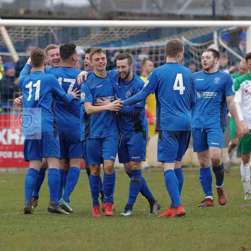 Chippenham Town V Bogmor Regis Town Match Pictures 10th February 2018