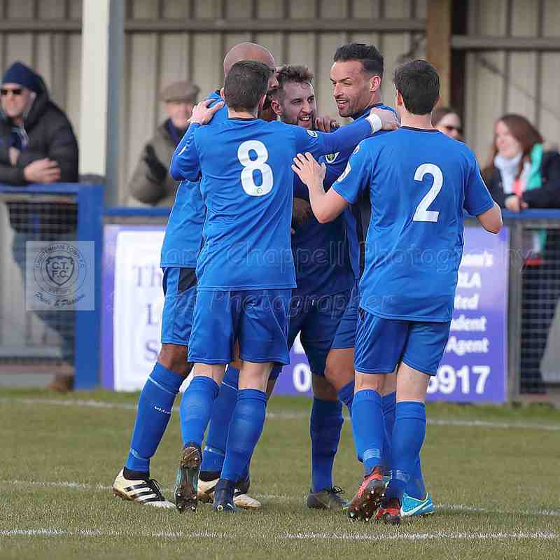 Chippenham Town V Hampton & Richmond Borough Match Pictures 17th February 2018