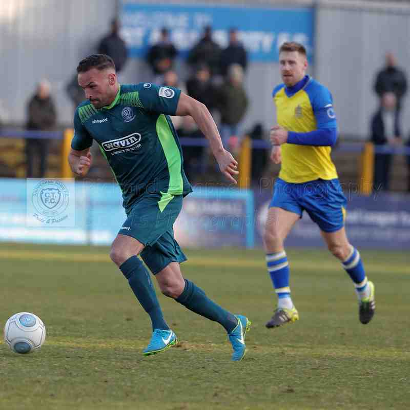 Chippenham Town V St.Albans Match Pictures 24th February 2018