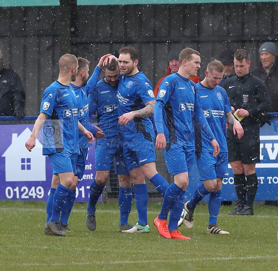 Chippenham Town V Weston-Super-Mare Match Pictures 17th March 2018