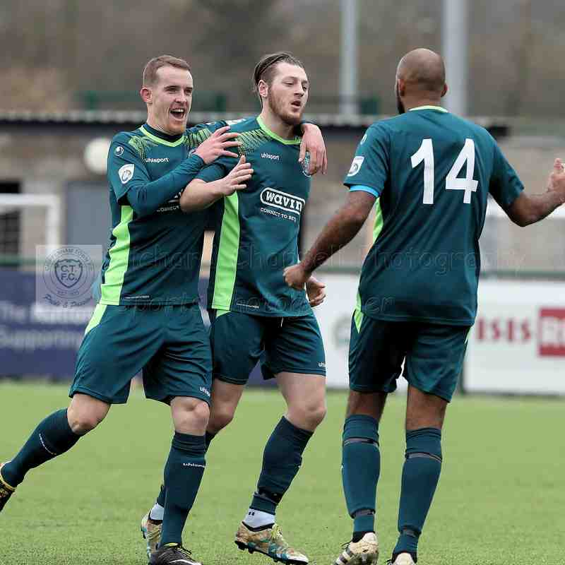 Chippenham Town V Oxford City Match Pictures 2nd April 2018