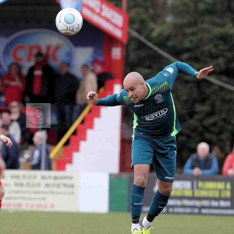 Chippenham Town V Hemel Hempstead Match Pictures 7th April 2018