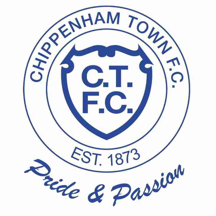 CHIPPENHAM TOWN FC – 2018/19 SEASON TICKETS