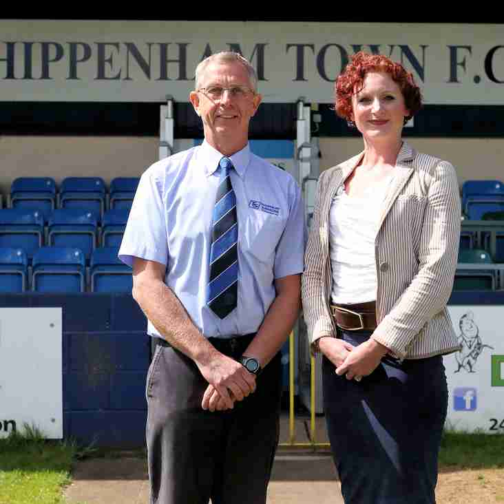 Chippenham Town FC have appointed a new full time Commercial Manager.