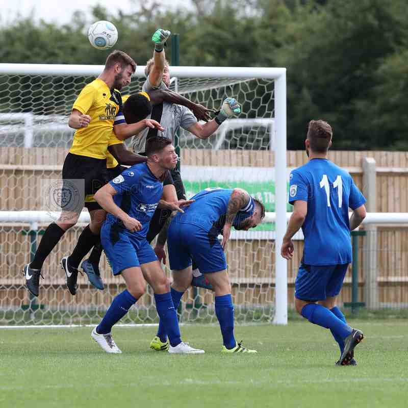 Chippenham Town V Melksham Town Friendly Match Pictures 21st July 2018