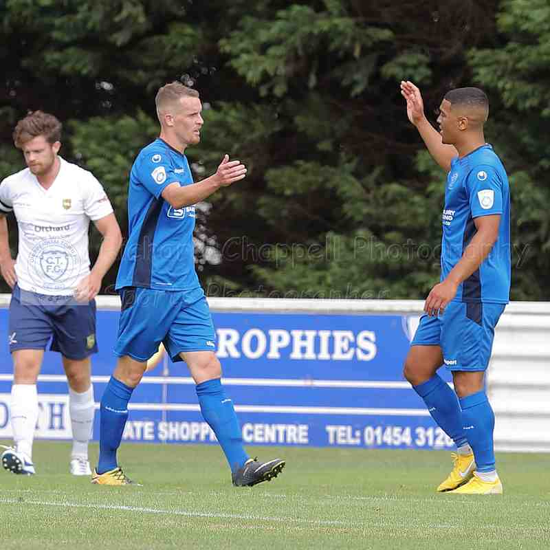 Chippenham Town V Yate Town Friendly Match Pictures 28th July 2018