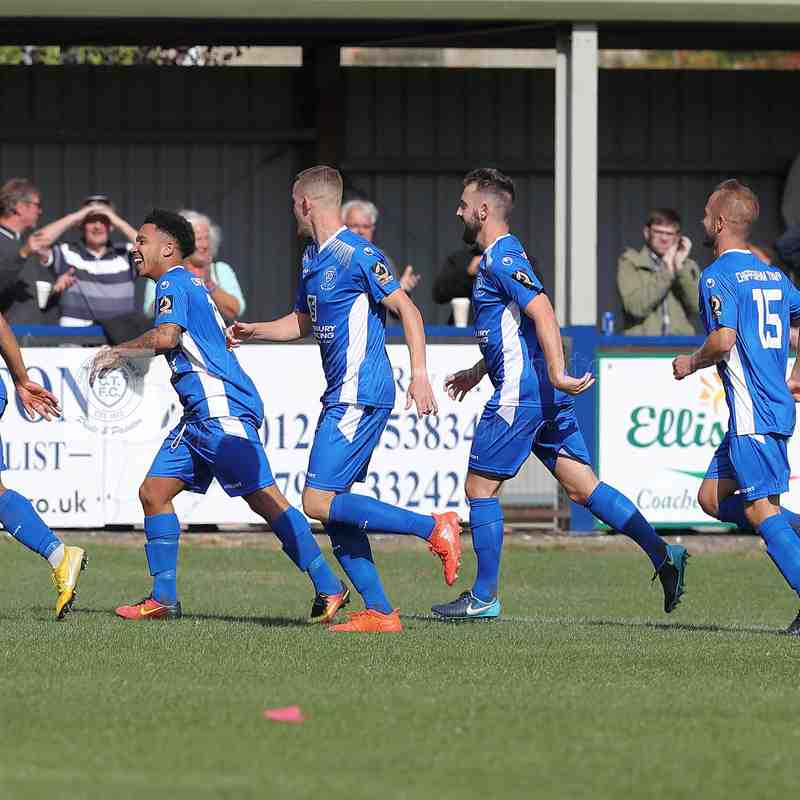 Chippenham Town V Billericay Town Match Pictures 25th August 2018