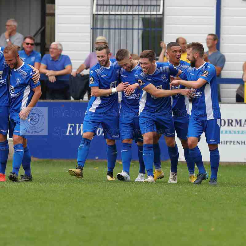 Chippenham Town V Concord Rangers Match Pictures 1st September 2018