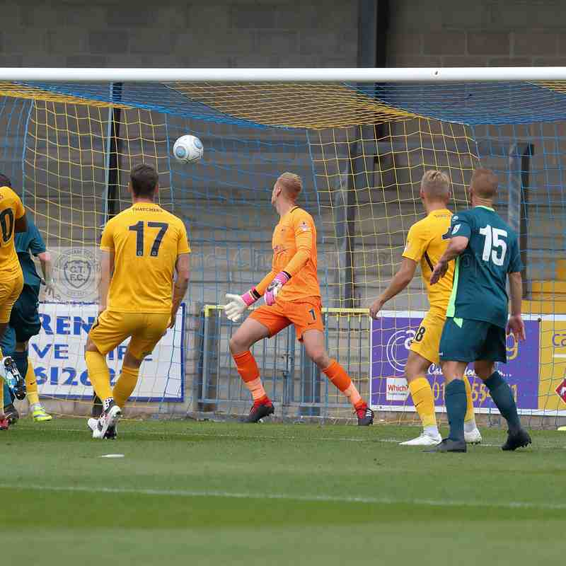 Chippenham Town V Torquay United Match Pictures 8th September 2018
