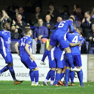 CHIPPENHAM TOWN 4 1 HENDON – Wednesday 10th Oct 2018 (FA Cup 3rd Qualifying Round)