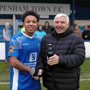CHIPPENHAM TOWN 2 0 EAST THURROCK – Sat 27th Oct 2018