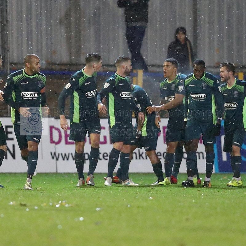 Chippenham Town V St. Albans City Match Pictures 10th November 2018
