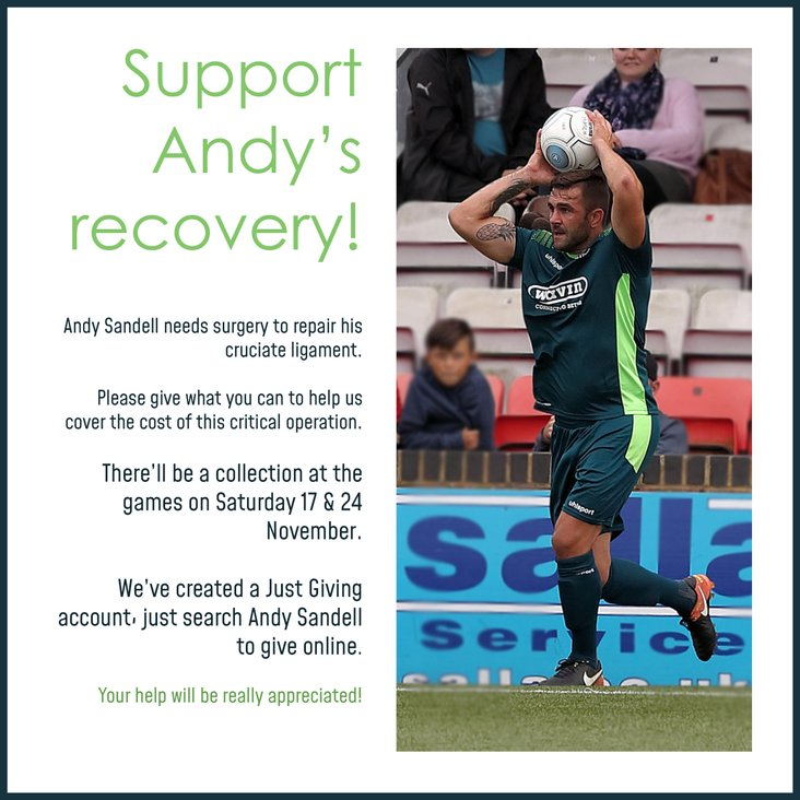 SUPPORT ANDY'S RECOVERY!<