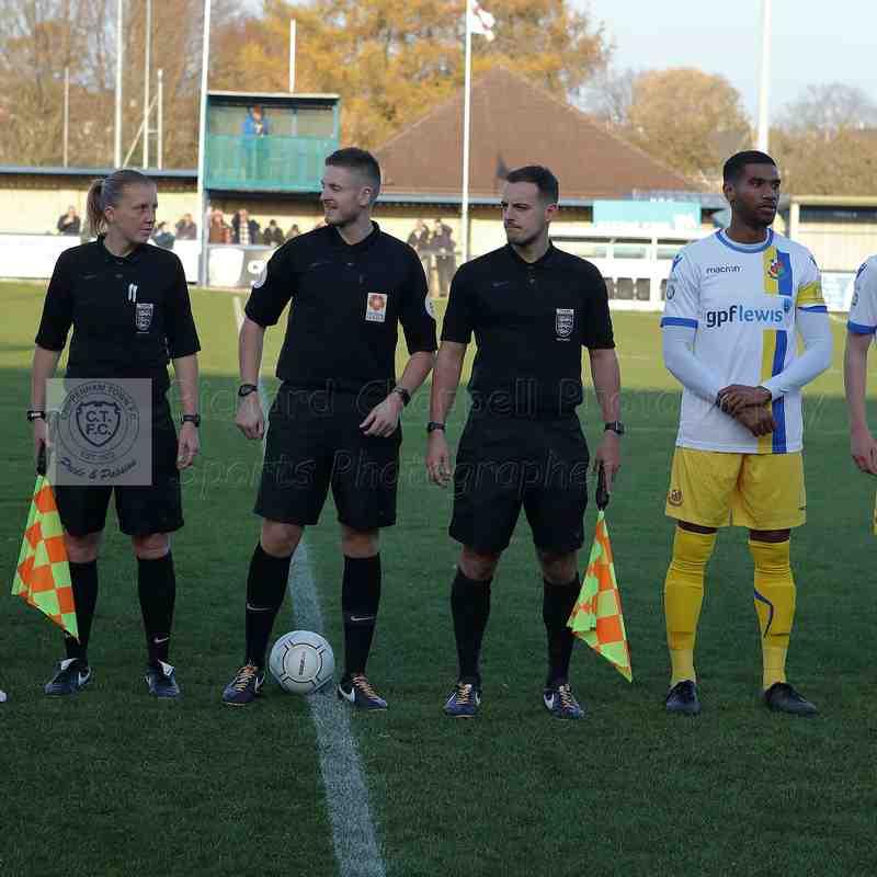 Chippenham Town V Wealdstone Match Pictures 17th November 2018