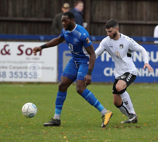 Chippenham Town V Weston-Super-Mare Match Pictures 1st December 2018