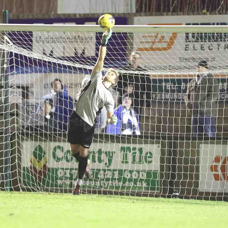 Chippenham Town V Salisbury FC Match Pictures 11th December 2018