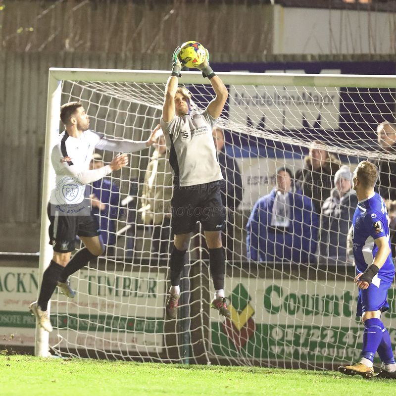 SALISBURY FC 1 0 CHIPPENHAM TOWN – Tues 11th Dec 2018 (Wiltshire Senior Cup Quarter-Final)
