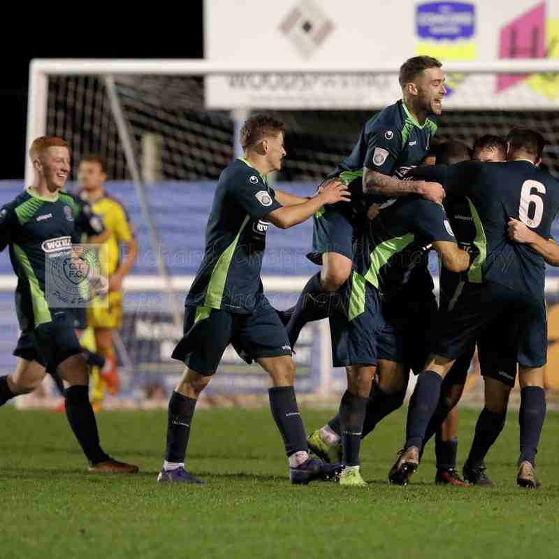 Chippenham Town V Concord Rangers Match Pictures 22nd December 2018