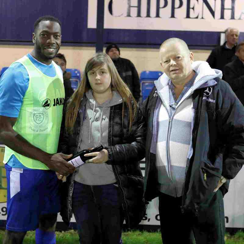 Chippenham Town V Bath City Match Pictures 26th December 2018