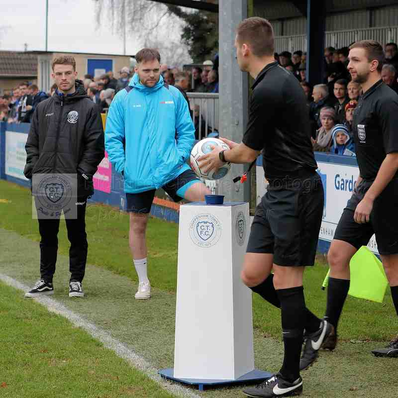 Chippenham Town V Bath City Match Pictures 26th December 2018