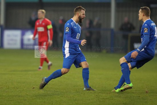 Chippenham Town V Eastbourne Borough Match Pictures 5th January 2019