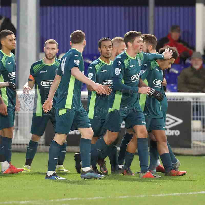 Chippenham Town V Billericky Town Match Pictures 12th January 2019
