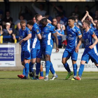 CHIPPENHAM TOWN 2 1 TORQUAY UNITED – Friday 19th April 2019