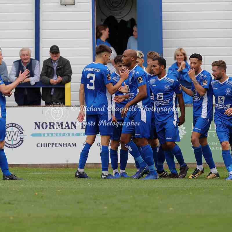 Chippenham Town V Tonbridge Angels Match Pictures 3rd September 2019
