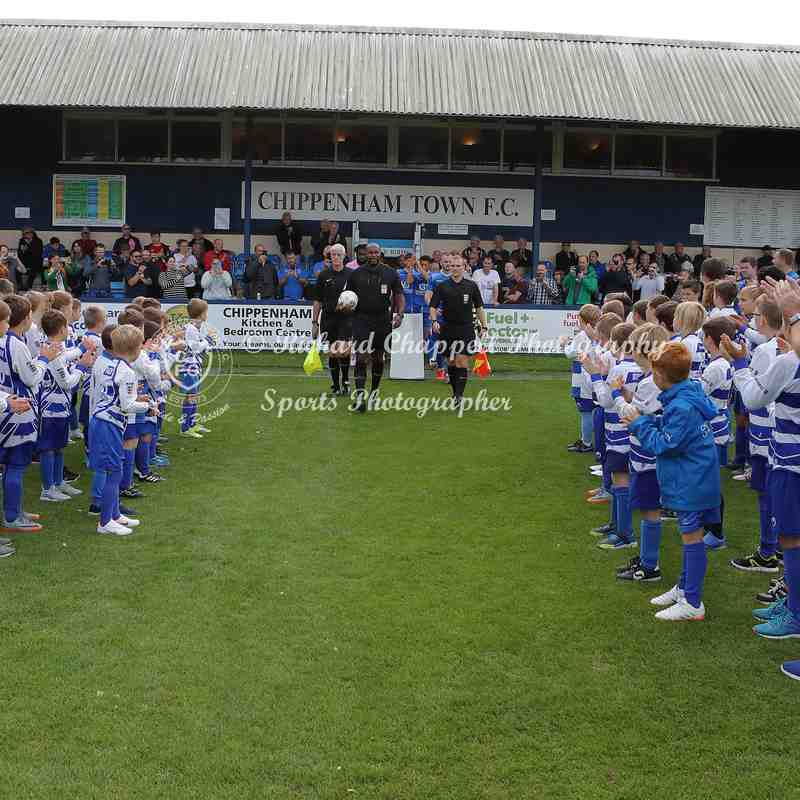 Chippenham Town V Dulwich Hamlet (100 Years at Hardenhuish Park) Match Pictures 28th September 2019