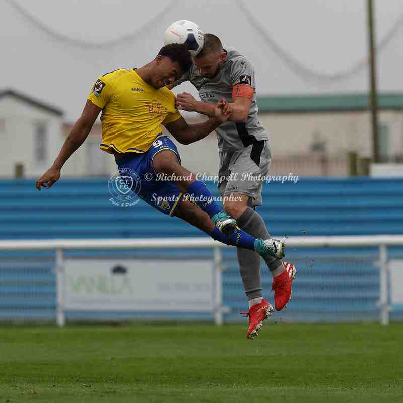 Chippenham Town V Concord Rangers Match Pictures 12th October 2019
