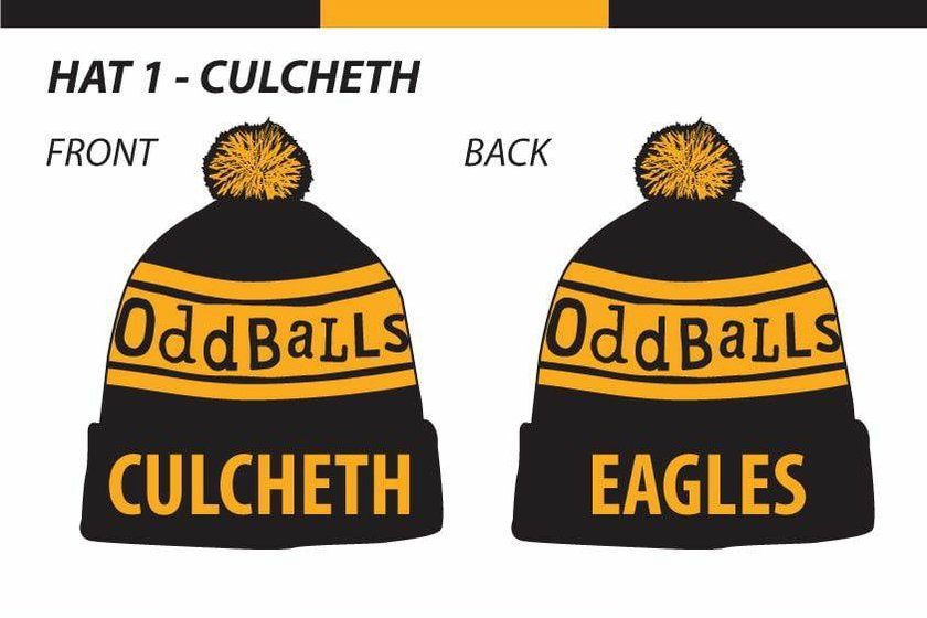 "Culcheth Eagles ""Oddballs"" Hats"