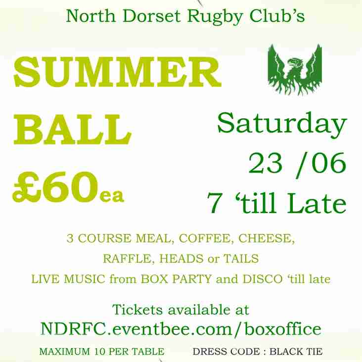 NDRFC Summer Ball 2018