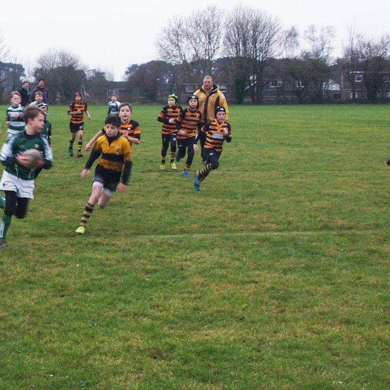 U11 vs Wimbourne & Salisbury