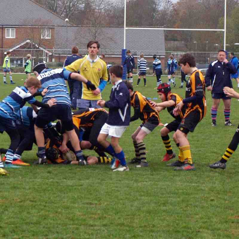 U12 Newbury 10 - 25 Marlborough