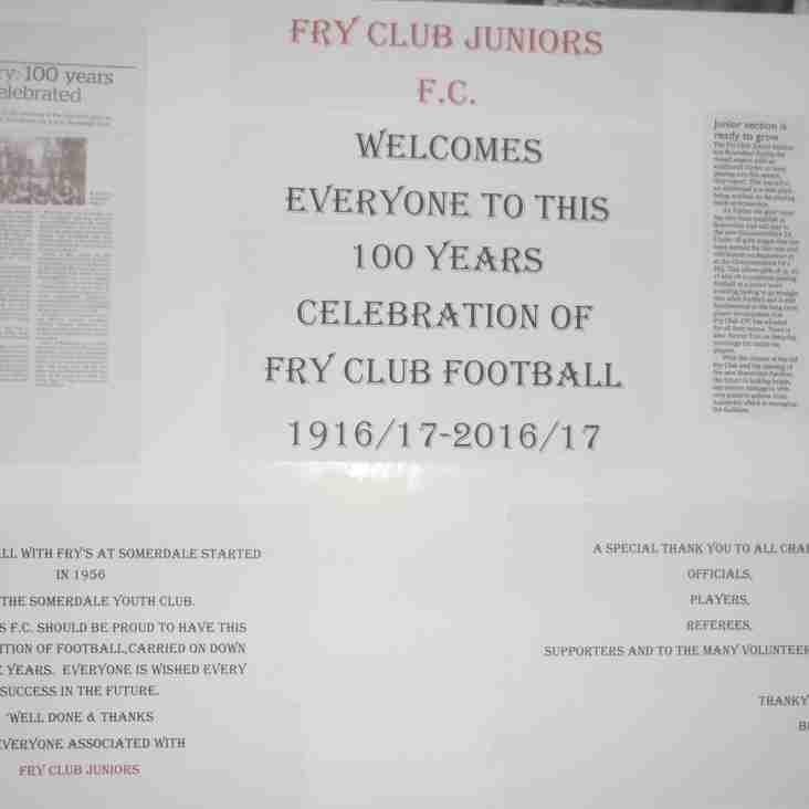 Fry Club Juniors Presentation