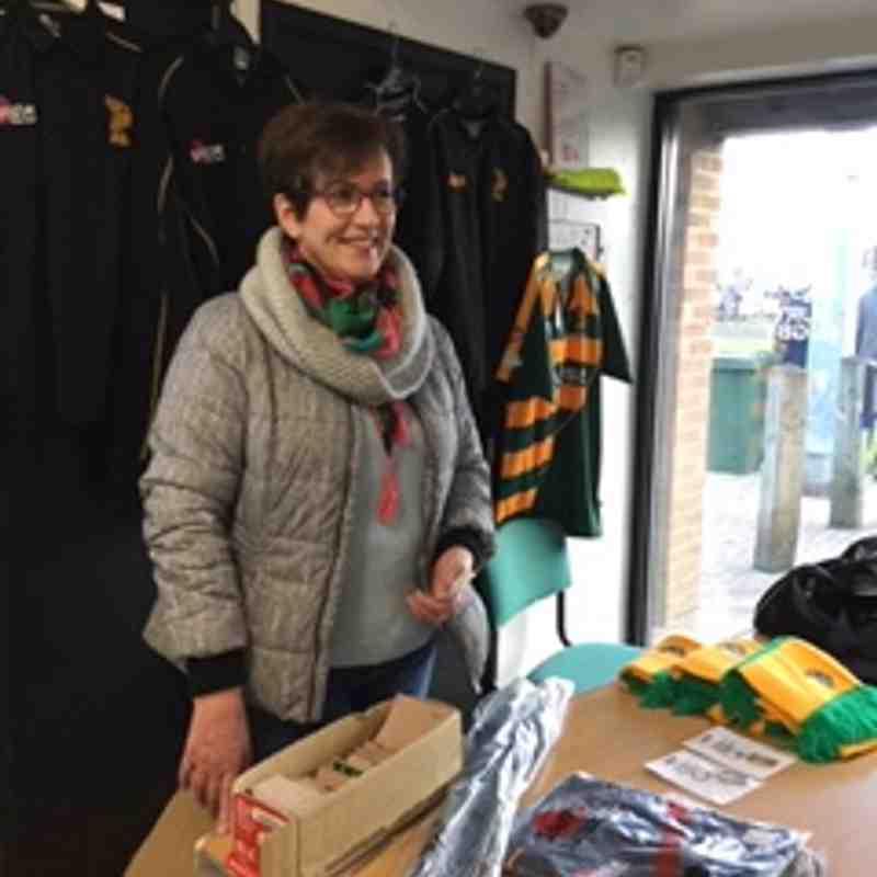 Club Shop Volunteer - Helen