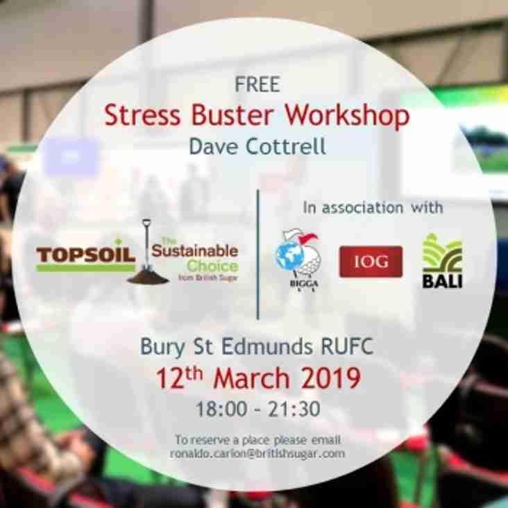 FREE Stress Buster Workshop