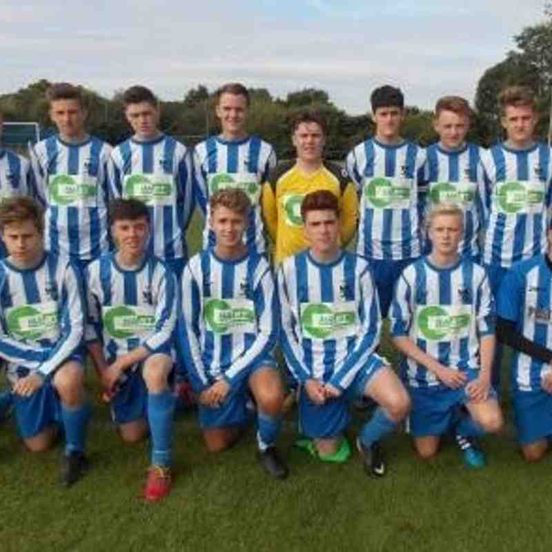 Coppull United Blues Academy 2015/16
