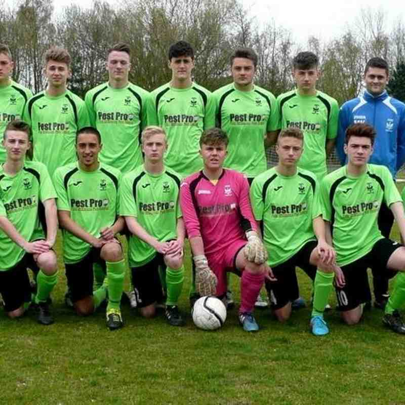 Coppull United Blues Academy 2015/16