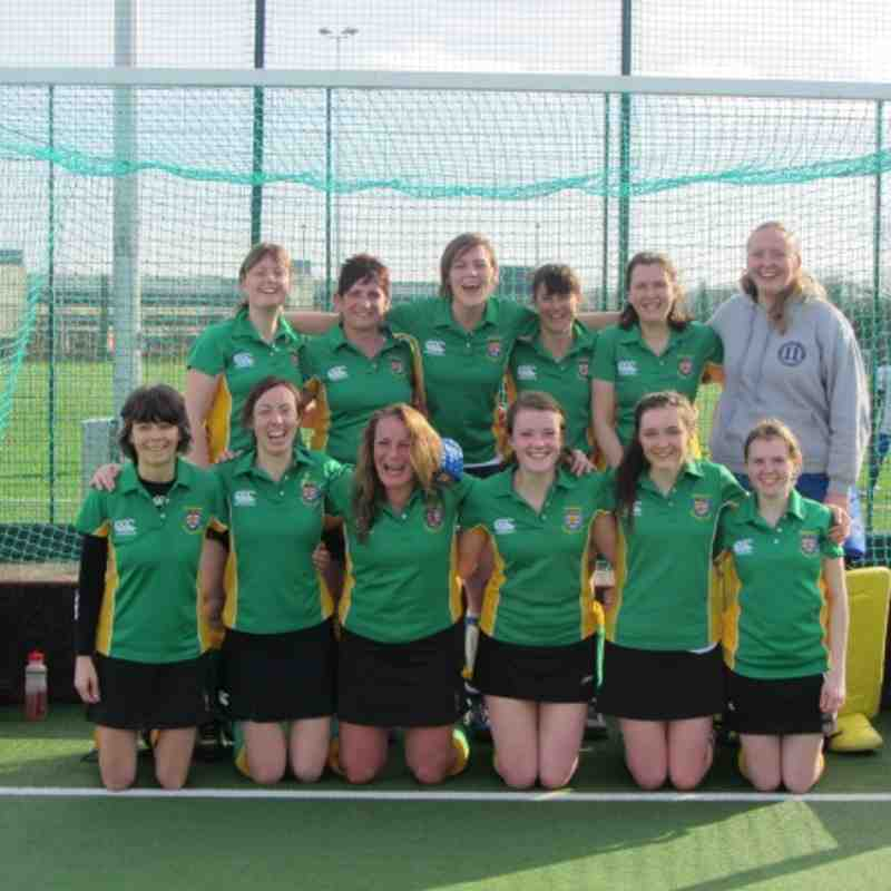 Ladies 2nd's...Champions of the Northumberland A League!