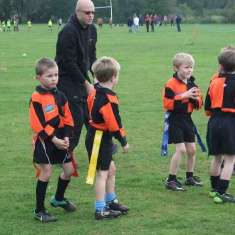 Under 7's at Ashbourne 23rd October 2011